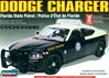 Dodge Charger Police Car - Florida State Patrol - Unpainted w/8 light bars & authentic decals (1/24) (fs)