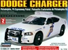 Dodge Charger Police Car - Philadelphia, PA - Unpainted w/8 light bars & authentic decals (1/24) (fs)