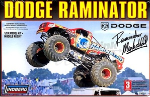 2006 Raminator Dodge Monster Truck (1/24) (fs)