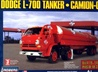 1965 Dodge L-700 Tilt Cab with Tanker Trailer  (1/25) (fs)