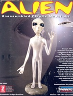 Roswell Alien Figure (8 inches tall) Recreated from Eye Witness Accounts