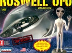 Roswell UFO with Alien Figure