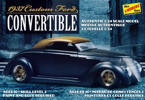 1937 Ford Custom Convertible (1/24) (fs)