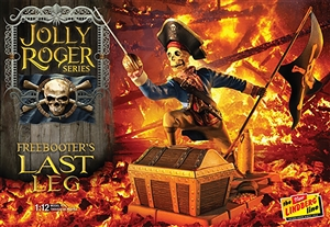 "Jolly Roger Series: The Freebooter's Last Leg (1/12) (fs) <br><span style=""color: rgb(255, 0, 0);"">Just Arrived</span>"