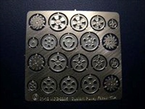 Photo-Etched Pulley Face Details