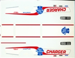 Pabst Blue Ribbon Charger Decals (1/16)
