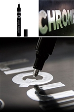 "1mm ""Fine"" Tip Liquid Chrome Mirror Effect Marker"