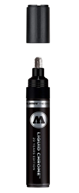 "5mm ""Ultra Wide"" Tip Liquid Chrome Mirror Effect Marker"