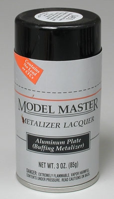 Aluminum Plate Buffing Metalizer Lacquer 3 oz