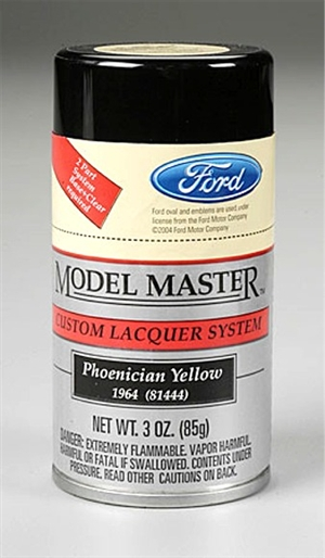 "Phonecian Yellow ""Ford""  Lacquer 3 oz"