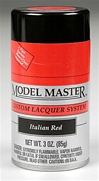 Spray Italian Red Lacquer 3 oz