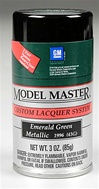 Spray Emerald Green Metallic Lacquer 3 oz