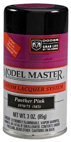 Spray Dodge Panther Pink Lacquer 3 oz Can