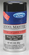 Spray Royal Blue Pearl Lacquer 3 oz