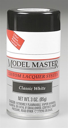 Spray Classic White Lacquer 3 oz