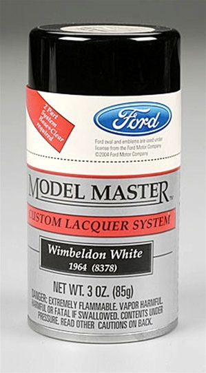 Spray Wimbeldon White Lacquer 3 oz Ford