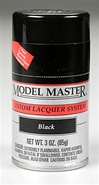 Spray Black Lacquer 3 oz