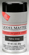Spray Fabric Gray Lacquer 3 oz
