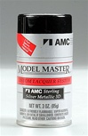 Spray Sterling Silver Metallic Lacquer 3 oz