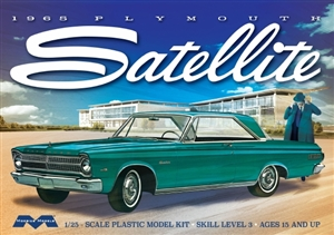 1965 Plymouth Satellite (1/25) (fs) Damaged Box