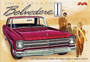 1965 Plymouth Belvedere I Sedan (1/25) (fs)
