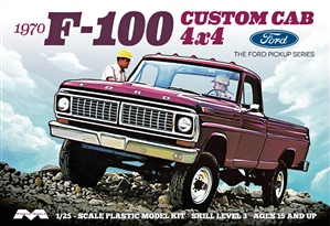 "1970 Ford F-100 Custom 4 x 4 Pickup (1/25) (fs) <br><span style=""color: rgb(255, 0, 0);"">Just Arrived</span>"