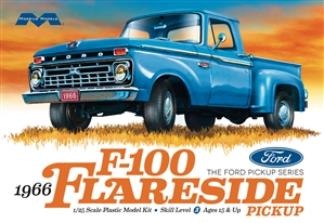 "1966 Ford F-100 Flareside Pickup (1/25) (fs) <br><span style=""color: rgb(255, 0, 0);"">Late May, 2019</span>"