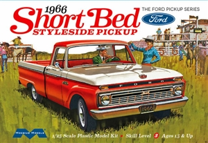 "1966 Ford F-100 Short Bed Styleside Pickup  (1/25) (fs) <br><span style=""color: rgb(255, 0, 0);""> Just Arrived</span>"
