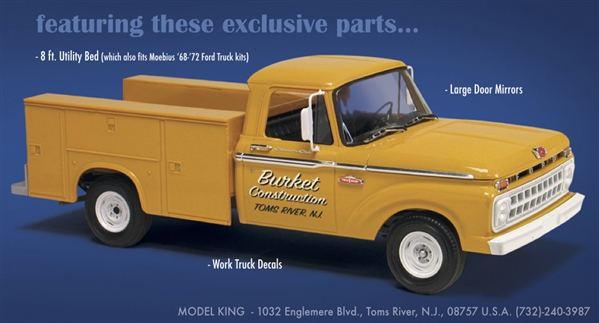 1965 Ford F-100 Service Truck (1/25) (fs) Just Arrived