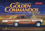 "1965 AF/X Plymouth Satellite ""Golden Commandos"" Altered Wheelbase Drag Race Car (1/25) (fs)"