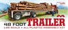 "48' Spread-Axle Flatbed Trailer (1/25) (fs)<br><span style=""color: rgb(255, 0, 0);"">Out of Stock</span>"