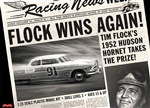 "1952 Tim Flock Hudson Hornet Stock Car  ""Newspaper Edition""  (1 of 1000) (1/25) (fs)"
