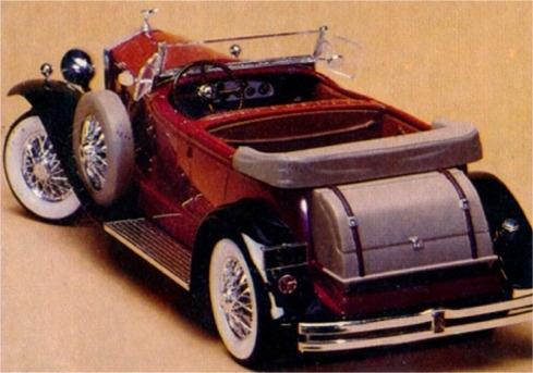 1931 Rolls Royce Phaeton 4 Door Roadster Touring 1 24 Fs
