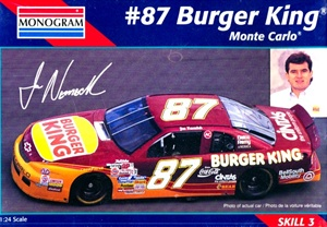 1995 #87 Burger King Joe Nemechek Monte Carlo (1/24) (fs)