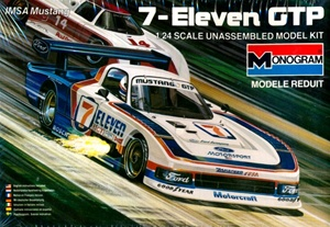 1985 IMSA Ford Mustang GTP '7-Eleven'  (1/24) (fs)