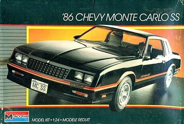 1986 Chevy Monte Carlo Ss 1 24 Fs
