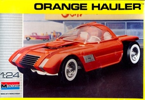 Orange Hauler Show Rod(1/24) (fs)