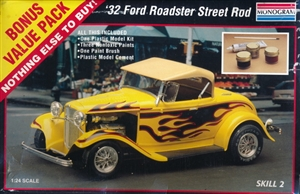 1932 Ford Roadster Street Rod (1/24) (si)