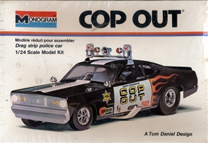197x Tom Daniel 'Cop Out' Plymouth Duster Funny Car (1/24) (fs) Original Issue