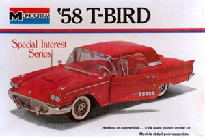 1958 Ford Thundebird (2 'n 1) Hardtop or Convertible (1/24) (fs)