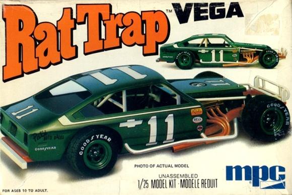 "197x Chevy Vega Modified Dirt Track Racer ""Rat Trap"" (1/25"
