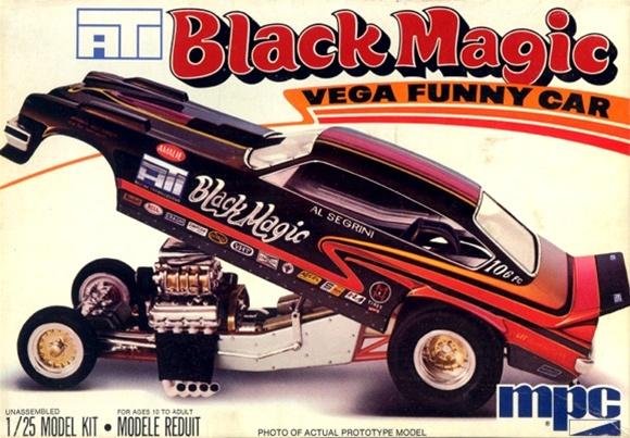 1976 Al Segrini S Quot Black Magic Quot Vega Funny Car 1 25 Si