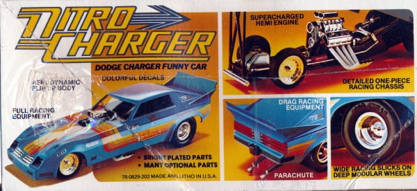 1982 Dodge Charger 'Nitro Charger' Funny Car (1/25) (fs)