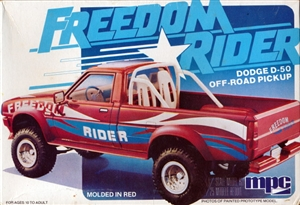 1981 Dodge D-50 Off-Road Pickup (1/25) (fs)