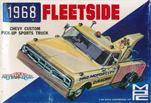 1968 Chevy Fleetside Pick-up (2 'n 1) Stock or Tow (1/25)