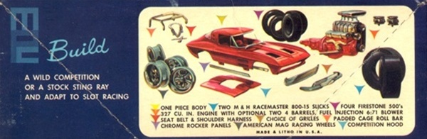 1964 Corvette Stingray (2 'n 1) Stock or Competition (1/25)