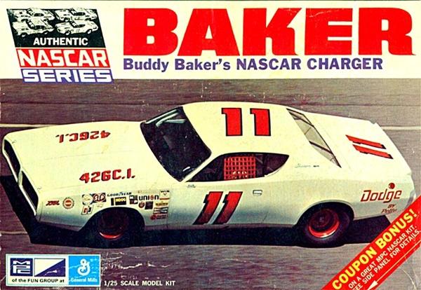 1971 buddy baker u0026 39 s  11 dodge charger nascar  1  25   fs