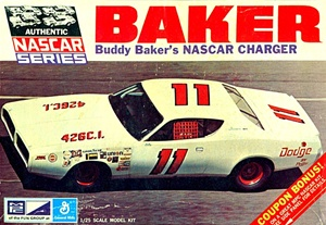 1971 Buddy Baker's #11 Dodge Charger NASCAR (1/25) (si)