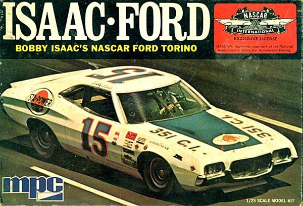 New Ford Torino >> 1973 Ford Torino Bobby Isaac NASCAR #15 (1/25) (si)