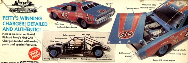 1974 Richard Petty STP Dodge Charger NASCAR 125
